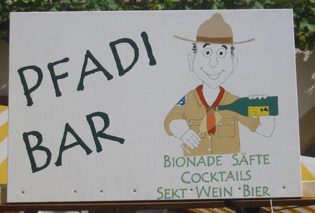 Pfadi-Bar
